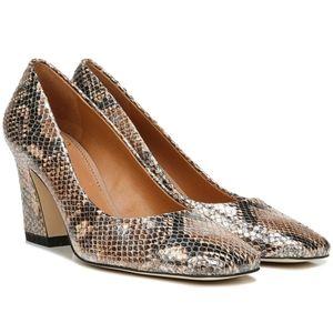 Sarto by Franco sarto a-graciana copper snake print leather heels